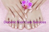 Diabetic foot care mobile services