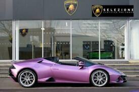 2021 Lamborghini Huracan EVO Spyder 5.2 V10 640 2dr Auto AWD Automatic Petrol Co