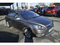 Ford Focus CC 2.0TD ( 134bhp ) 2008.25MY CC-3 CONVERTIBLE LEATHER INT