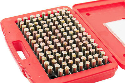 Out Of Stock 90 Days Shars .061-1.000 M1 - M7 Class Zz Steel Pin Plug Gage Set