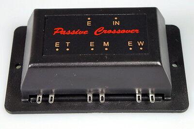 3-Wege Frequenzweiche passiv 50 W 6 dB OCT Rockwood Car - Hifi Crossover