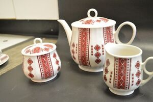 REDUCED - MUST SELL Ukraine Dish Set with Accessories Strathcona County Edmonton Area image 7