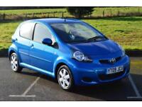 TOYOTA AYGO 1.0 VVT i Blue 5 Door MMT Automatic LOW MILEAGE
