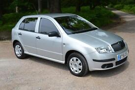 2007 SKODA FABIA 1.4 TDI 5dr ONE OWNER ONLY 20,000 MILES