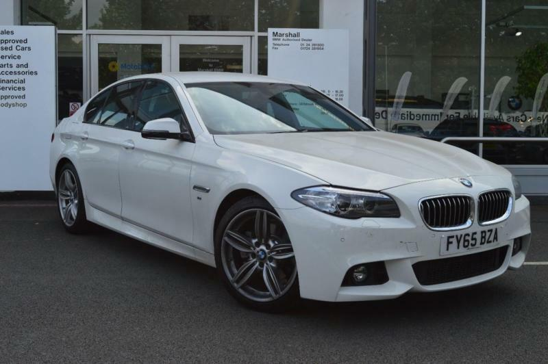 2015 bmw 5 series f10 520d m sport saloon b47 2 0 diesel white automatic in scunthorpe. Black Bedroom Furniture Sets. Home Design Ideas