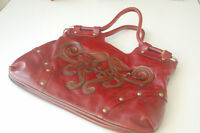 Kate Landry, 100% Leather Bag, Beautiful Red Colour