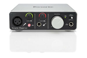 Focusrite iTrack Solo iPad/iPhone and USB Audio Interface