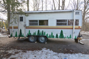 1976 Coachmen Cadet. 19 feet and roughly 3000 lbs. sleeps 4 to 5