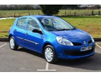 2007 RENAULT CLIO 1.6 VVT Expression 5dr Auto VERY LOW MILES