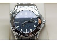 Mid Size Omega Seamaster with Papers