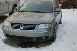 2003 Volkswagen Passat for Sale or to Part Out