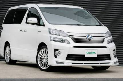 Toyota Vellfire ZG-R Limited 2013 model Hybrid Carlingford The Hills District Preview