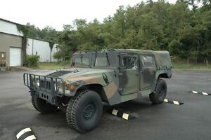 1989 HUMMER H1 4 door soft top-covered back Wagon
