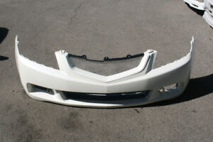 Acura Tsx Oem Front Bumper Cover & Mesh Grill (2004-2005)