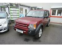2005 LAND ROVER DISCOVERY 3 TDV6 SE SAT NAV 7 SEATS LEATHER ESTATE DIESEL