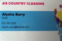 A's Country Cleaning