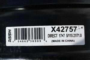 "Jantes 17"" en acier #42757"