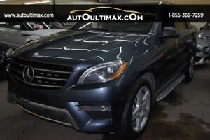Mercedes-Benz M-Class 4MATIC- ML350 BlueTEC-AMG PACKAGE 2014