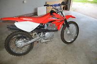 2010 Honda CRF100f dirt bike