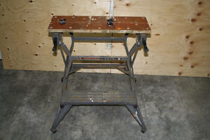 Work Bench Black and Decker Workmate Project Center
