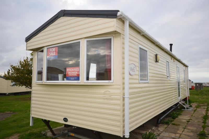 Static Caravan Isle of Sheppey Kent 3 Bedrooms 8 Berth ABI Vista 2011 Harts