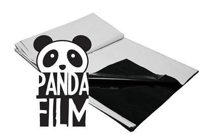 BLACK/WHITE POLY 10' x 10' ft 25' 50' 100' Panda Film Reflective Sheet Grow Room (Panda Sheets)