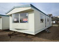 CHEAP FIRST CARAVAN, Steeple Bay, Southend, Clacton, Essex, Hit the Link-->