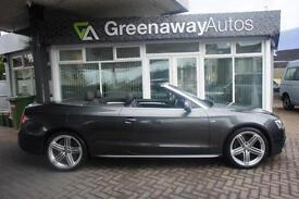 2013 AUDI A5 TDI S LINE SPECIAL EDITION £5145 WORTH OF OPTIONS CONVERTIBLE DIE