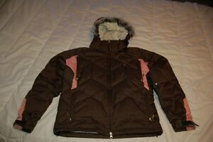 DC Down Snowboard Jacket Womens