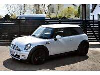 2010 MINI 1.6 COOPER D CAMDEN SILVER WHITE HK SOUNDS FSH 6 MONTHS RAC WARRANTY