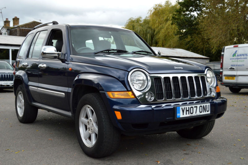 2007 jeep cherokee limited 2 8 crd turbo diesel 4wd automatic px swap swop in staines upon. Black Bedroom Furniture Sets. Home Design Ideas