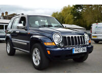 2007 JEEP CHEROKEE LIMITED 2.8 CRD TURBO DIESEL 4WD AUTOMATIC PX SWAP SWOP