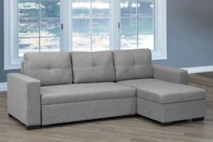 Grey Storage Sectional