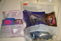 3 M 1/2 face respirator mask with P 100 3 M filters new