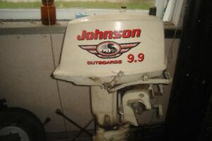 moteur Johnson 9.9