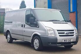 Silver Ford Transit 2.2TDCi ( 115PS ) 280M ( Low Roof ) 280 MWB Trend
