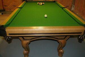 custom made snooker table Kawartha Lakes Peterborough Area image 1