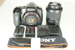 Sony A300 with 2 lenses