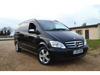 2013 MERCEDES-BENZ VIANO 2.2CDI ( 163bhp ) (Extra Long) Ambiente BLACK 8 SEATER