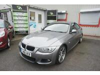 2011 BMW 3 SERIES 320I M SPORT 1 OWNER FULL HISTORY COUPE PETROL