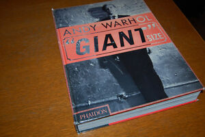 Andy Warhol GIANT SIZE Hardcover Book