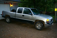 1999 GMC Sierra 1500 4x4 for parts