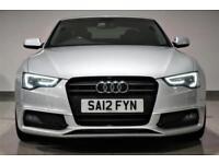 Audi A5 2.0TDI ( 175bhp ) 2012 S-Line Black Edition- PX-SWAP - WARRANTY -