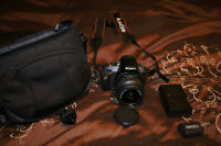 Sony A330 10.2 MP with memory card, lens, case, battery and char