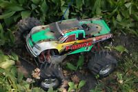Traxxas rc  nitro 4x4 monster truck