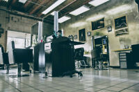 Rent space at upscale Salon/Barbershop