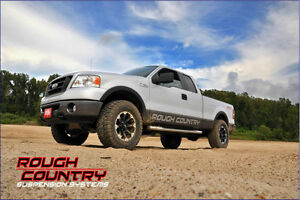 Ens. de Suspension Rough Country 2.5'' Ford F150 2004-08