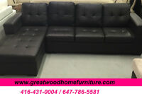 **** BRAND NEW CONDO SIZE SECTIONAL SOFA FOR $449 ONLY **