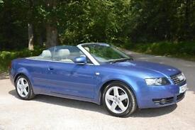 2003 AUDI A4 CONVERTIBLE 3.0 Sport Automatic CONVERTIBLE ONLY 34,000 MILES