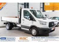 2016 66 FORD TRANSIT 2.2 350 C/C DRW 124 BHP DIESEL SINGLE CAB TIPPER